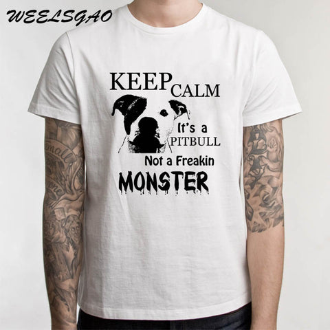 Keep Calm Its A Pitbull Not A Freakin Monster T-Shirt