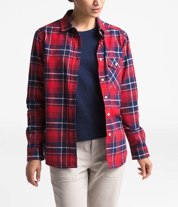 WOMEN'S LONG-SLEEVE BOYFRIEND SHIRT - FINAL SALE