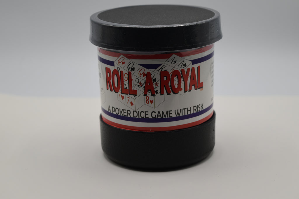 The Action Of Dice, Strategy Of Poker, Thrill Of Risk. Roll A Royal Is A Poker Dice Game With Multiple Poker Hands grouped Together For Scoring. Instructions Included, helps enhance math skills. Great Family Game