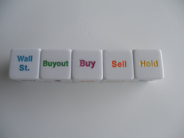 WALL ST. BUYOUT DICE GAME
