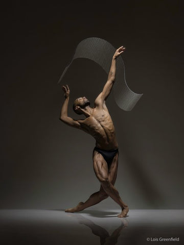 Sean Aaron Carmon is a Gallery Ambassador for I Dance Contemporary photo by Lois Greenfeld