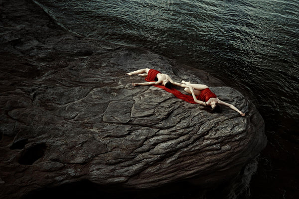 Dancers on rocks by Sasha Onyshchenko