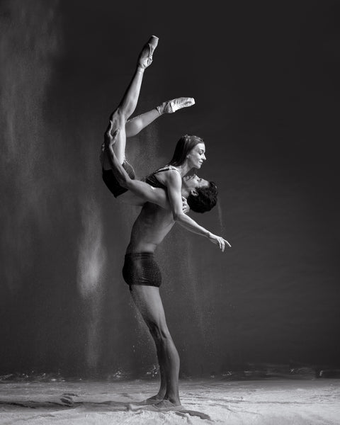 Art Dance Photography Prints - Purchase Online the artwork: Dancers in b&w by Francsico Estevez
