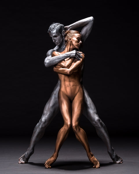 Art Dance Photography Prints - Purchase Online the artwork: Mehron Figures - kinnect by Francisco Estevez