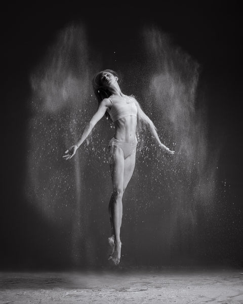 Art Dance Photography Prints - Purchase Online the artwork: Dancer solo jumping in dust by Francsico Estevez