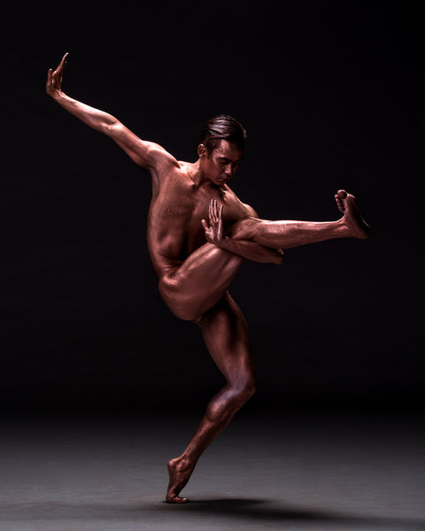 Art Dance Photography Prints - Purchase Online the artwork: Mehron Figures - male dancer nude by Francisco Estevez