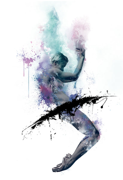 Art Dance Photography Prints - Purchase Online the artwork: Synthesis en-pointe by David Perkins