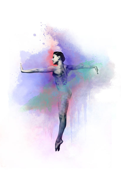 Art Dance Photography Prints - Purchase Online the artwork: Synthesis Ballerina by David Perkins