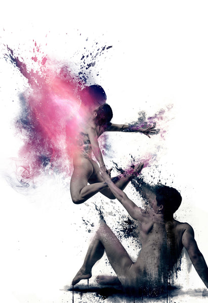 Art Dance Photography Prints - Purchase Online the artwork: Synthesis Duo by David Perkins
