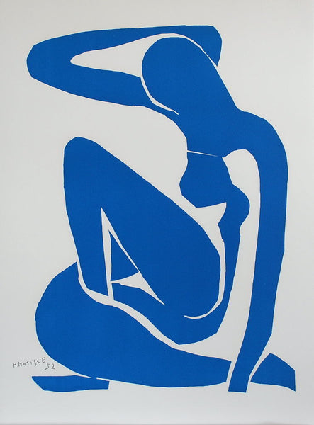 Nu Bleu I (Blue Nude I), 2007 by Henri Matisse (French, 1869–1954)  Lithograph, size 79 × 58 cm | 31 1/10 × 22 4/5 in Edition of 200 This work is part of a limited edition set.