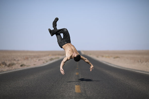 Art Dance Photography Prints - Purchase Online the artwork: Nomad - Free falling by Shed Mojahid