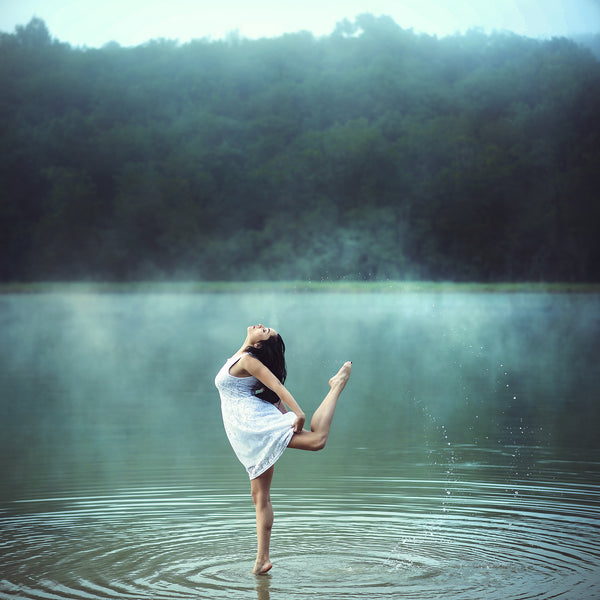 Art Dance Photography Prints - Purchase Online the artwork: The blue lake by Dimitry Roulland