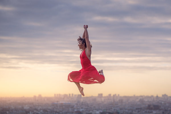 Art Dance Photography Prints - Purchase Online the artwork: Above Paris by Dimitry Roulland