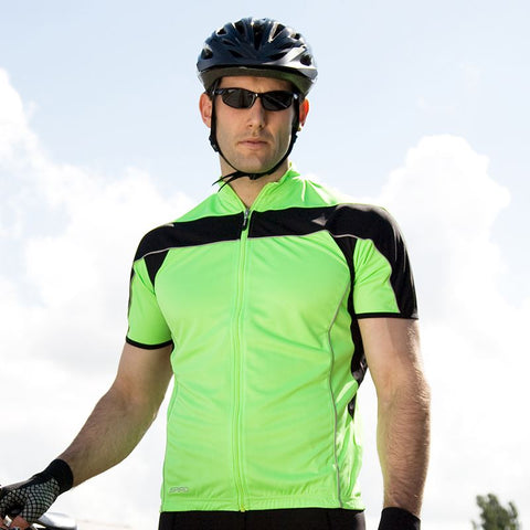 Mens Spiro Bikewear full zip top