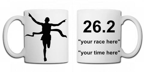 Personalised marathon mug - MySports and More