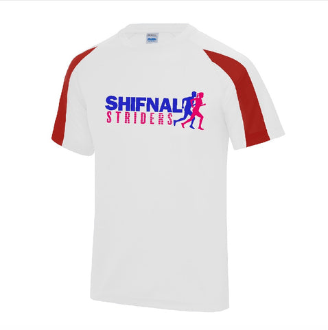 Unisex Shifnal Striders contrast tee