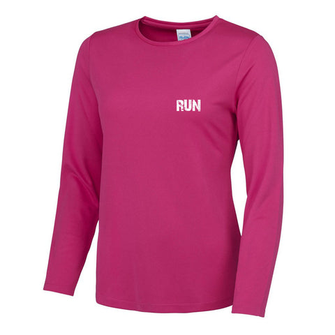 Run Essential Long Sleeve Cool T - MySports and More