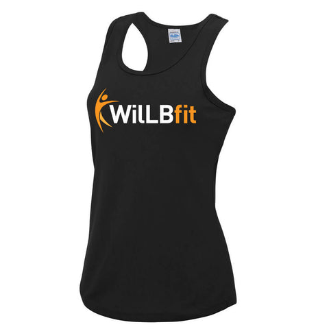 Willbfit ladies orange vest JC015