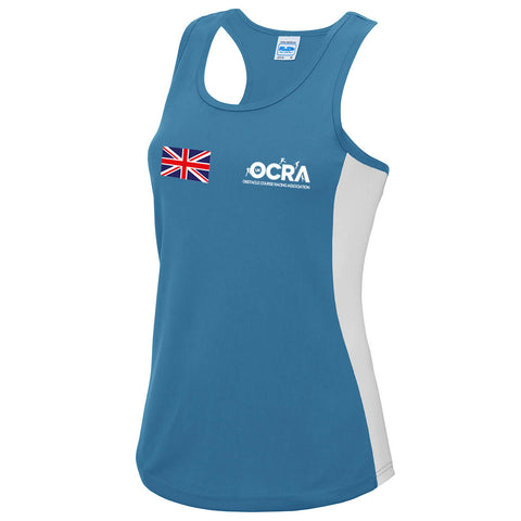 Team UK Womens Vest Blue