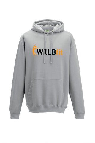 Willbfit Heather grey hoody JH001