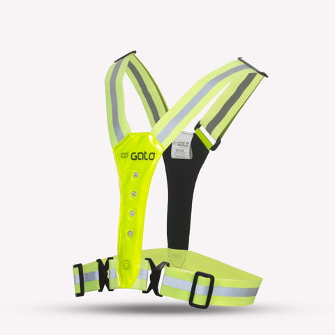 LED Safer Sport Vest USB - MySports and More