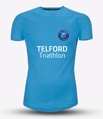 Mens Telford Tri Recycled Tech Tee