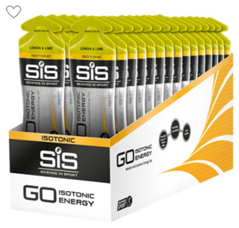SIS Isotonic energy gel Lemon and lime
