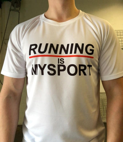 Running is MySport tech tee - MySports and More