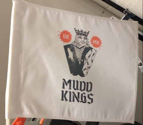 Mudd Kings car flag