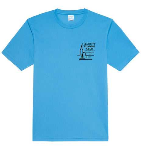 Velocity running club men's tech tee Jc001
