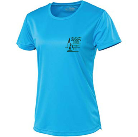 Velocity running club ladies tee