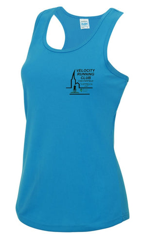 Velocity running club ladies vest