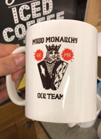 Mudd Monarchy 11 oz mug