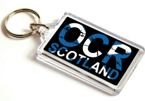 OCR Scotland keyring