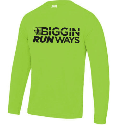 Men's long sleeve tech top - MySports and More