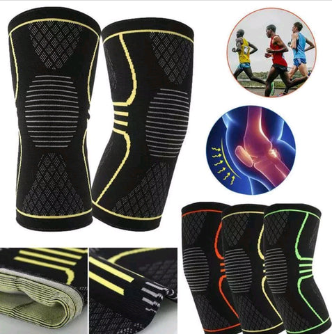 Knee compression and recovery sleeves