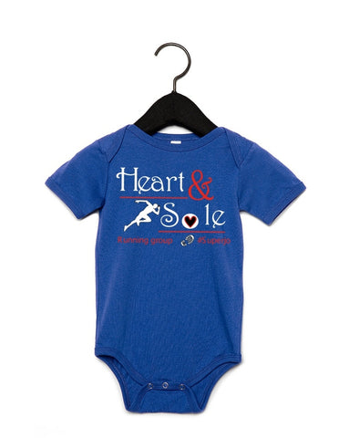 Heart and Sole babygrow 100B