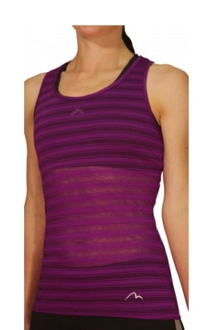 More Mile Breathe Ladies Training Vest Purple - MySports and More