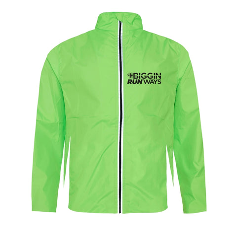 Biggin Runways wind and showerproof running jacket