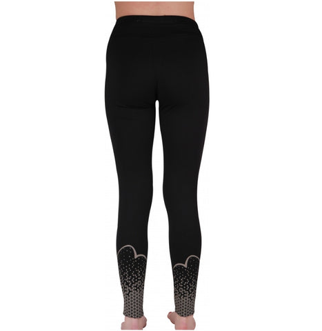 More mile women's long compression tights MM2750