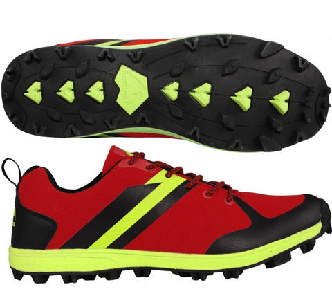 Mens Cheviot PACE Trail shoe Red - MySports and More