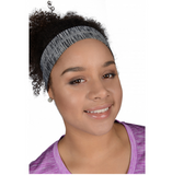 More Mile Flyaway Tamer Headband - Grey - MySports and More