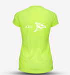 Neon Yellow Mens ARG Recycled Tech Tee