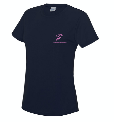 Eythorne Runners Short Sleeve T-Shirt Womens