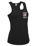 Renegades Womens Tech Vest Black/White/Red