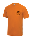 Fox Trotters Mens tech tee Orange