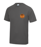 Fox Trotters Mens tech tee Grey