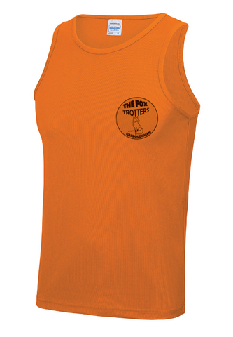 Fox Trotters Mens tech Vest Orange