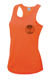 Fox Trotters Womens tech Vest Orange