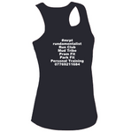#mrptexperience Womens Cool Contrast Vest White&Navy/Fire Red&Black/Red&White - MySports and More